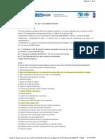 RE 2605, 2006- Lista de Produtos Proibido Reprocessar
