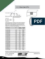 SELLO PISTON Chem Cas PS-914-9000