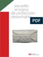 Folleto Mascarilla Quirurgica (EFB)