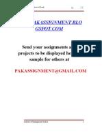Internship Report of SCB