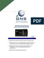 GNS Drive Recorder Handbuch 200E