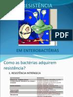 Resistência em Enterobactérias