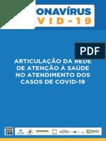 Articulação da rede de atenção à Saúde nos casos de COVID-19