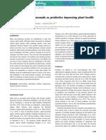 Rhizosphere Pseudomonads as Probiotics Improving Plant Health