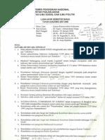Sistem Pemerintahan Indonesia (UAS) 2007