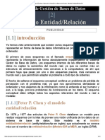 Jorge Sánchez. Manual de Gestión de Bases de Datos. Modelo Entidad_Relación