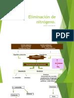 Eliminación de nitrógeno