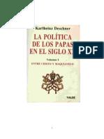 Deschner, Karlheinz - La política de los papas en el siglo XX - Vol. 1