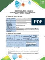 Guía de actividades y rúbrica de evaluación - Fase 1 - Repensar al hombre
