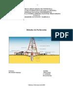 sintesis proceso de perforacion