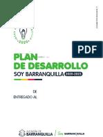Estructura Plan de Desarrollo Soy Barranquilla