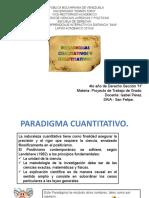 Diapositivas sobre los Paradigmas.