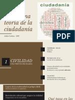 Hacia una teoría de la Ciudadanía