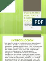Grado 11-B POBREZA,MARGINALIDAD Y EXLUSION SOCIAL.pptx
