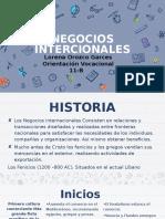 Grado 11-B Orozco Garces Lorena Negocios Internacionales