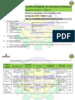 Programación Control Biologico de Plagas 2020