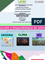 1.- Geografía, Clima y Agua