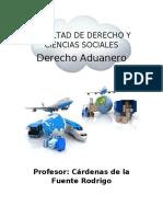 Conceptos DERECHO ADUANERO