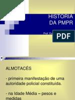 História PMPR