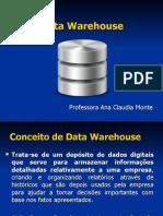 Aula 08 - Data Warehouse