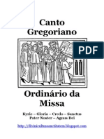 Ordinarium cum Kyrie ac Credo antiquioribus
