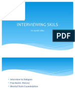 Interviewing Skils