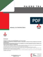 Manual do Proprietário Mitsubishi Pajero TR4 2014.pdf