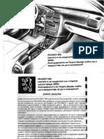 Peugeot 406-96-99 Manual BG