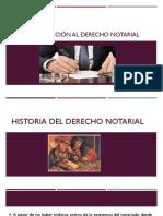 INTRODUCCION AL DERECHO NOTARIAL I