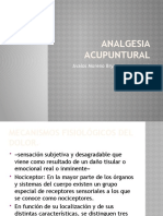 Analgesia acupuntural