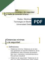 11. Distancias de seguridad