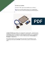 Ligando um sensor de chuva ao Arduino