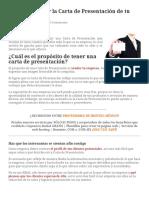 ¿Cómo Redactar la Carta de Presentación de tu Empresa_
