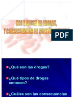 Uso y Abuso de Drogas