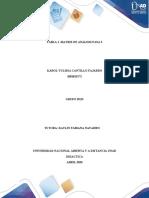 Matriz de análisis paso 3