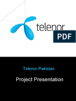 Report on Management Functions at Telenor Pakistan