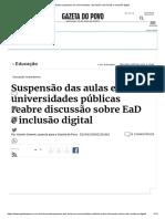 Aulas suspensas em universidades_ discussão sobre EaD e inclusão digital