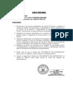 CARTA FUNCIONAL DE RR.HH
