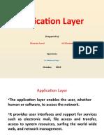 Applicaion Layer