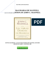 Las Lecturas Diarias de Maxwell Spanish Edition by John c Maxwell(1)