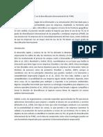 Impacto del uso de las TIC en la diversificación internacional de las PYME