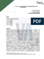 O PROGRAMA V.I.G.I.A. E A SEGURANÇA MULTIDIMENSIONAL NAS FRONTEIRAS