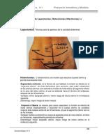 Laparotomías, hitorotomías e histerectomías