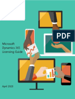 Dynamics 365 Licensing Guide - Apr 2020
