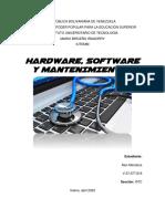 TRABAJO TEMA I - Hardware, Software y Mantenimientos (ALEX MENDOZA I5TC).pdf