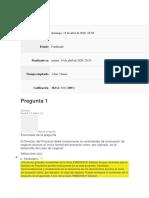 Evaluación clase 3 DIPLOMADO DIRECCION PROYECTOS