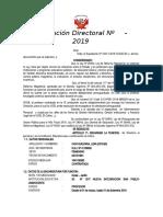 ENCARGATURA DE DIRECCION