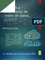 Normas y estándares de redes de datos