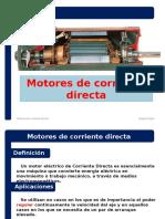 3.2 Motores de corriente directa