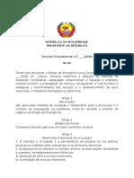 Decreto Presidencial - Mediddas Adicionais ao Estado de Emergencia Revisto.docx